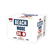 Beach Mode On.  27 Shot- case of 4 BW1517case