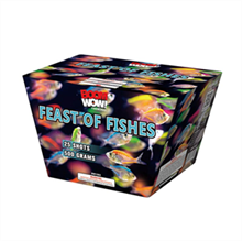 """""""Feast Of Fishes  25 Shots 500G""""-Case of 4 BW1563case"""