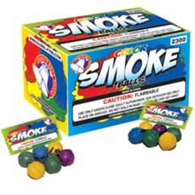 Color Smoke Balls Clay Box K2300